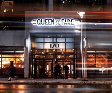 Queen Street Fare Entrance
